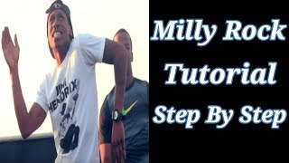 How to Milly Rock - Milly Rock Tutorial | Secret to Milly Rock| Dance Tutorial