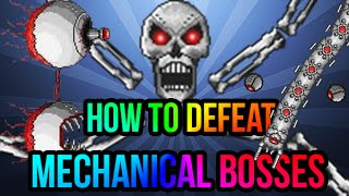 1.3 How to easy kill all MECHANICAL BOSSES - Best Tips and Tricks