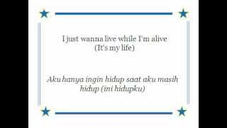 Lyric It's my life with Indonesian subtitle (Bon Jovi)