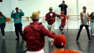 Phils Hiphop/Funk Class - Moves like Jagger