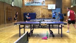 Table Tennis Practicing Romania U18 TSV Stein) (27)