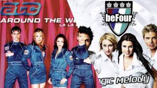 ATC - Around the World vs. Befour - Magic Melody Mashup
