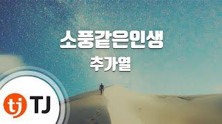 [TJ노래방] 소풍같은인생 - 추가열(Choo, Ga-Yeol) / TJ Karaoke