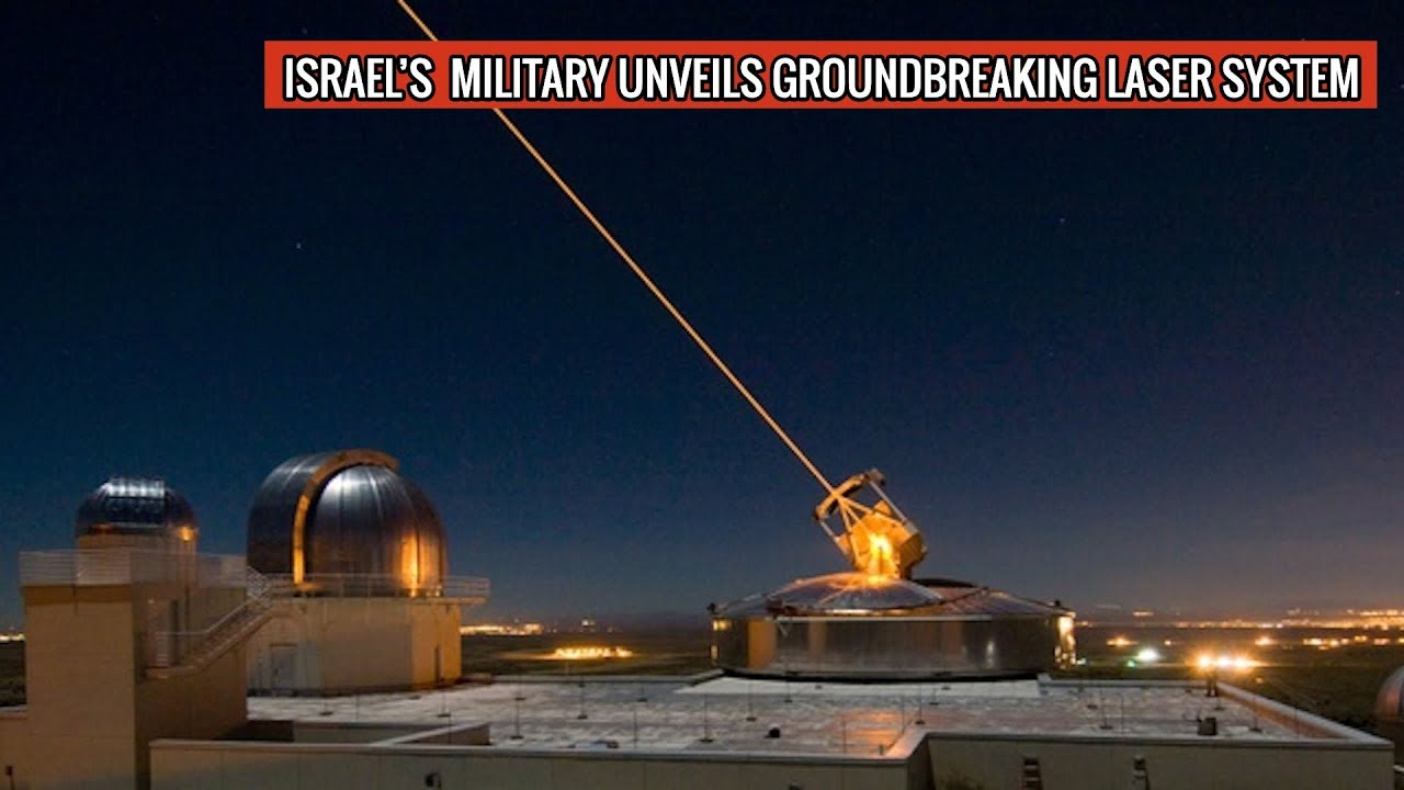 Israel's New Laser Anti Missile System in Action