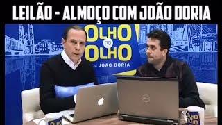 João Doria e Maurício Meirelles realizam almoço beneficente arrecadado por R$25 mil