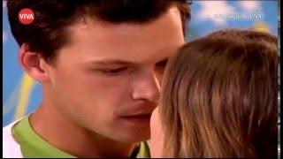 Primeiro beijo de Gustavo e Letícia no Amparo (EDITADO)