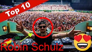 TOP 10 ROBIN SCHULZ SONGS // BEST SONGS