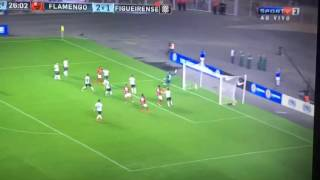 Gol De Fernandinho Flamengo x Figueirense Copa Sulamericana