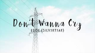 (Acoustic Cover) SEVENTEEN - Don't Wanna Cry (울고 싶지 않아) | Elise (Silv3rT3ar)