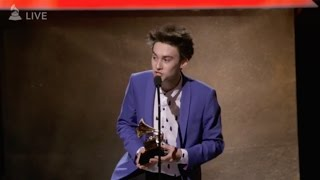 Jacob Collier GRAMMY Speech 2017