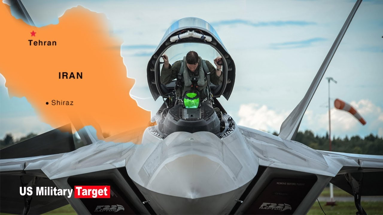 Shocked : That time an F 22 Pilot told the lranian Air Force to go Home