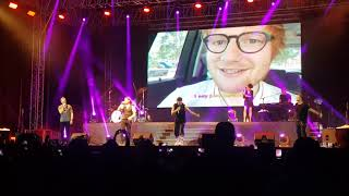 Boyzone - Because (Live in Sri Lanka 16.08.2018)