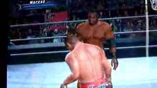 Marcus Cor Von's 2nd finisher-WWE Smackdown VS. Raw2008