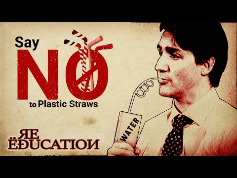 Liberals Ban Plastic Straws In Canada [Trudeau Week Ep1]