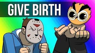Vanoss Gaming Animated - Give Birth! width=