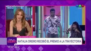 """Natalia Oreiro habla sobre su caída en """"Cortá por Lozano"""""""
