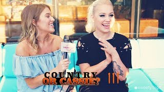 "RAELYNN Plays ""COUNTRY or CASSIE?"" at CMA FEST!"