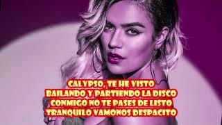 Luis fonsi ft Karol G calypso letra