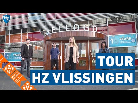 HZ in Vlissingen : 4 students show you around | HZ University of Applied Sciences