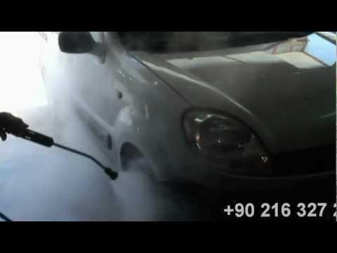 Buharlı Mobil Araç Temizleme Makinası