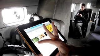 Internet sem fio dentro do avião
