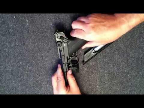 Video: Legends P08 CO2 BB gun - how to reassemble  | Pyramyd Air
