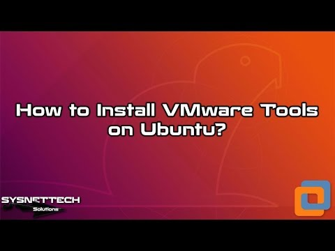 How to Install VMware Tools on Ubuntu 19.04