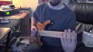 Drowning Pool - Bodies (Guitar Cover HD 720p)