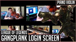 League Of Legends - Gangplank Login screen [Cover]