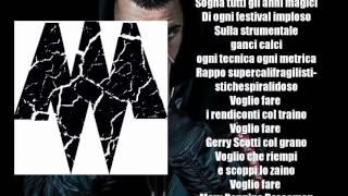 "MADMAN - ""Bolla Papale freestyle"" (prod. PK) | Testo/Lyrics"