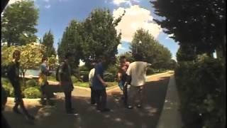 Skateboarders VS. Angry Jogger
