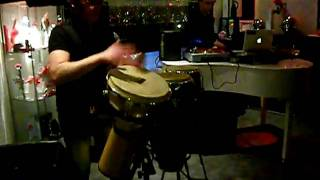 RAFFA-FL DJ feat MAX ZOPPY  live percussion GLAMOUR CAFE'