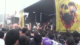 All Shall Parish live at Mayhem festival 2011