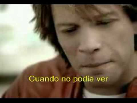 Thank You For Loving Me En Espanol de Jon Bon Jovi Letra y Video