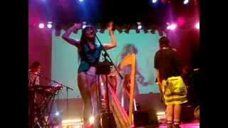 CocoRosie - We Are On Fire LIVE in Prague 27/8/12