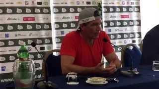 Ischia conferenza Antonio Banderas live