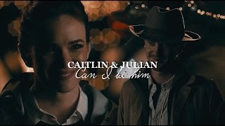 Caitlin and Julian (+Barry) 3x21 AU   Can I be him