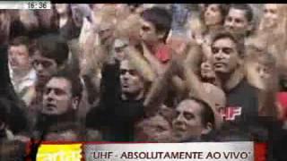 Cartaz Primeiro DVD ao vivo dos UHF 01 04 2009