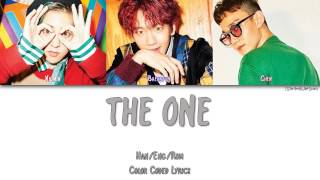 EXO-CBX (첸백시) - THE ONE [Color Coded Han Rom Eng]