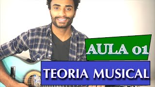 TEORIA MUSICAL PARA VIOLÃO - AULA 01 - NOTA E ACORDE