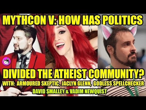 Mythcon V Panel w/ Armoured Skeptic, Jaclyn Glenn, Vadim Newquist & more
