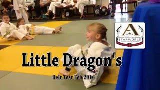 Starworld Martial Arts Little Dragon's Belt Test Feb 2016