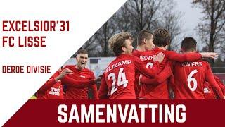 Screenshot van video Samenvatting Excelsior'31 - FC Lisse
