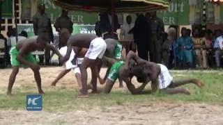 Togo celebrates Evala wrestling festival