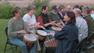 How to play your first rhythm on the djembe--a lesson for beginners