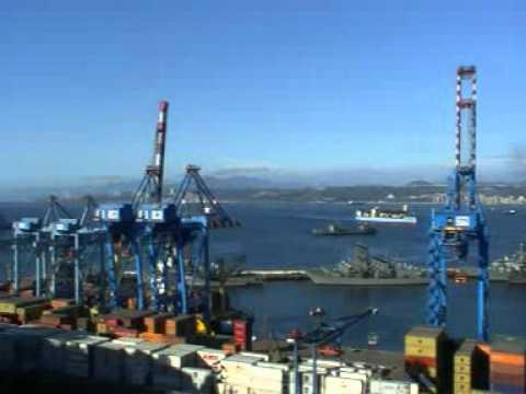 Viaje por Sudamerica di Giacomo Sanesi. Valparaiso (CIL). 01303 – vista sul porto 2