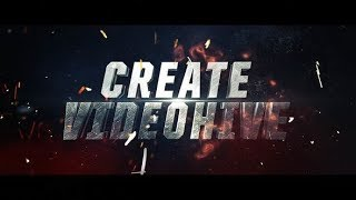 Cinematic Action Text Intro | After Effects template