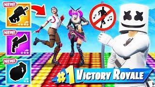 REACTIVE Marshmello SKIN Dance OFF *NEW* Game Mode in Fortnite Battle Royale