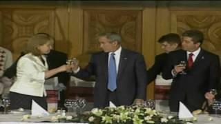 CNN: Laura Bush on George's drinking