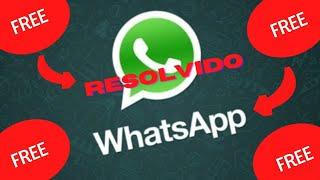 WhatsApp não baixa fotos e vídeos Resolvido!